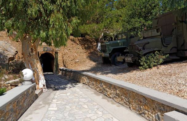 "Τhe ""Tunnel""  War Museum"