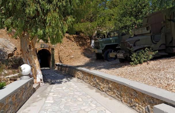 """Τhe """"Tunnel""""  War Museum"""