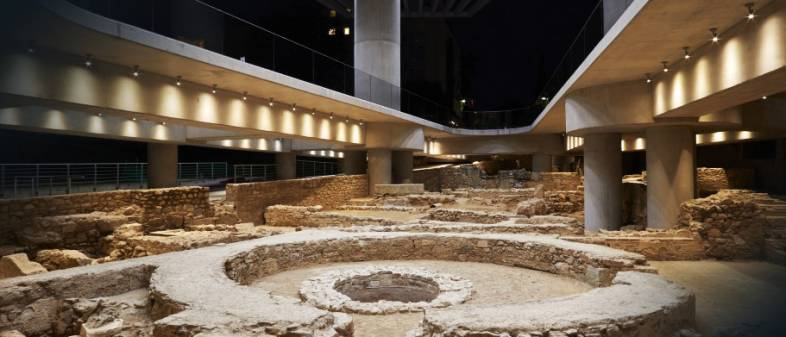 Acropolis Museum: Underground excavation opened to the public